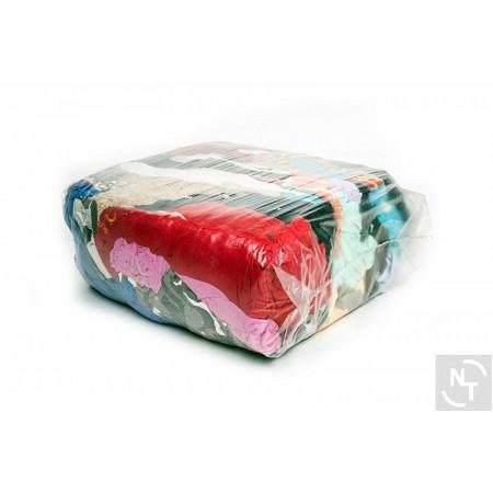 Czyściwo bawełniane kolorowe 10 kg