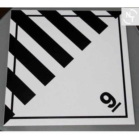 Nalepka ostrzegawcza ADR nr 9 30x30 cm
