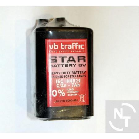 Bateria 6V do lamp LED