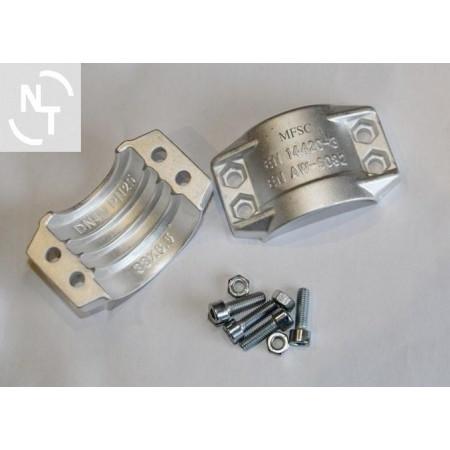 Półpierścień K38x6,5 (zakres 50-52) aluminium (kpl - 2 szt. + śruby)