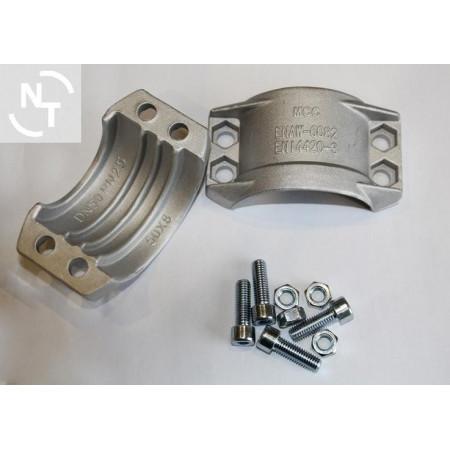 Półpierścień K50x8 (zakres 64-67) aluminium (kpl - 2 szt. + śruby)