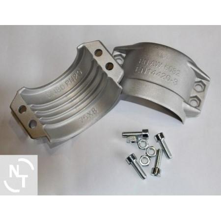 Półpierścień K75x8 (zakres 89-93) aluminium (kpl - 2 szt. + śruby)