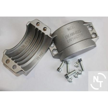 Półpierścień K75x10 (zakres 94-97) aluminium (kpl - 2 szt. + śruby)