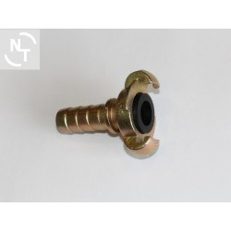 Złącze kłowe SKB 19 na wąż DN19 rozstaw kłów 42 mm