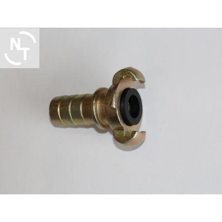 Złącze kłowe SKB 25 na wąż DN25 rozstaw kłow 42 mm