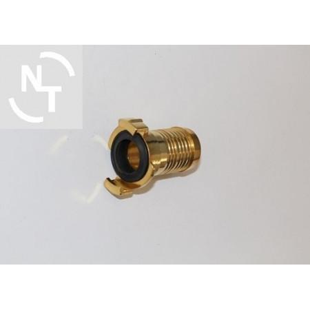 Złącze GEKA pod wąż DN25 mosiężne rozstaw kłów 40mm