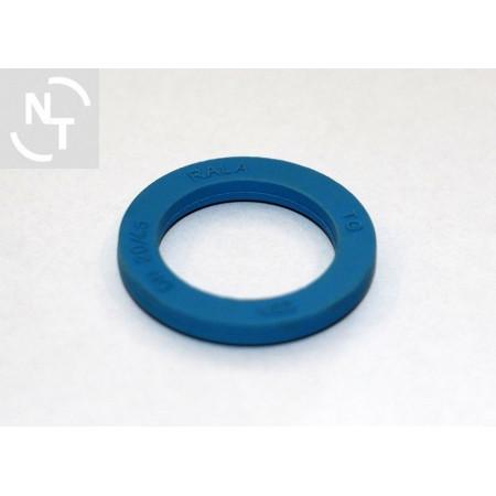 Uszczelka złącza spożywczego DN 20 NBR H4,5 niebieska