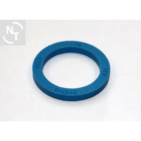 Uszczelka złącza spożywczego DN 25 NBR H5,0 niebieska