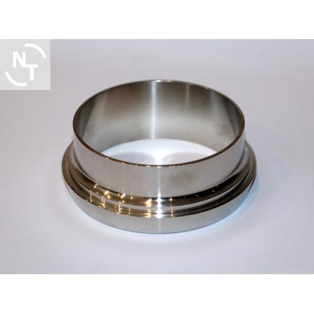 Króciec złącza spożywczego higienicznego stożkowe DN 100 DIN 11851 SS 316
