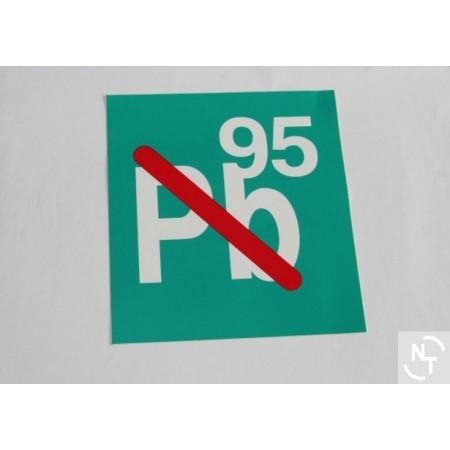 Nalepka dystrybutor PB 95
